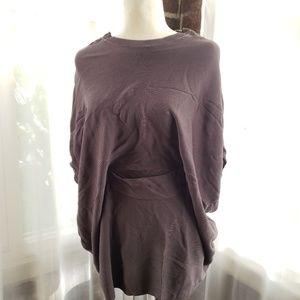 Drapy Tunic with Cinched Waist
